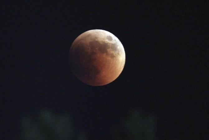 lunar eclipse in Tirana