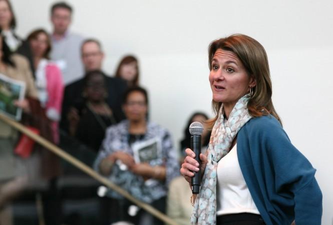 Melinda Gates, co-chairman of Bill & Melinda Gates Foundation, US