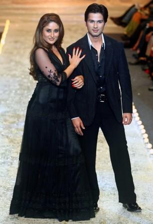 Shahid Kapoor and Kareena Kapoor