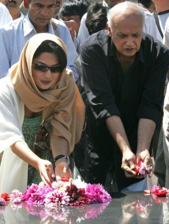 Pakistani actress Meera and Indian director Mahesh Bhatt