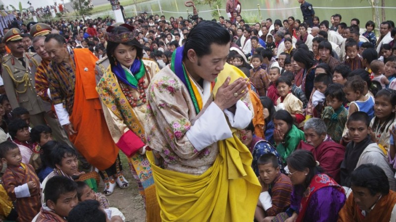 King Jigme Khesar Namgyel Wangchuck and Queen Jetsun Pema