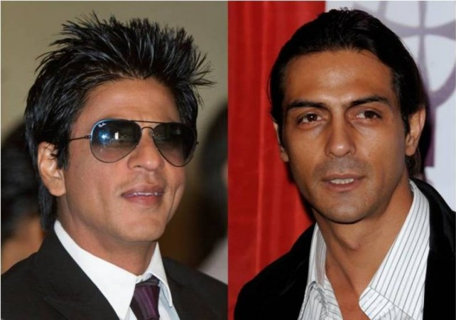 Shah Rukh Khan and Arjun Rampal