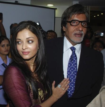 Aishwarya Rai Bachchan, Amitabh Bachchan