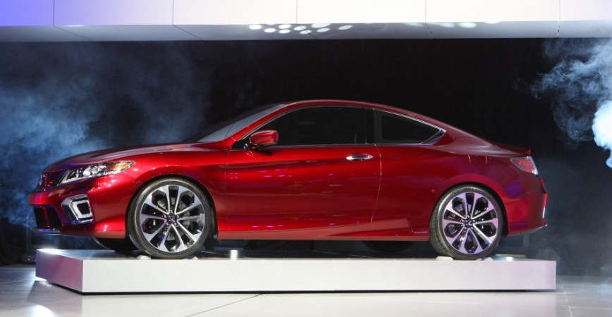 The Honda Accord plug in hybrid concept car is displayed on the final press preview day for the North American International Auto Show in Detroit, Michigan, January 10, 2012.