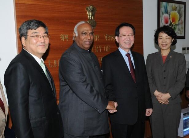 Indo-Korea Bilateral meeting
