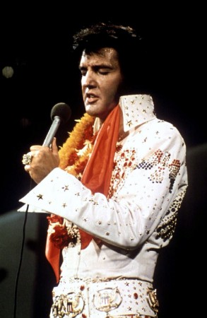 Legendary singer Elvis Presley died in 1977