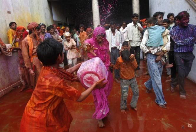 Lathmar Holi in India