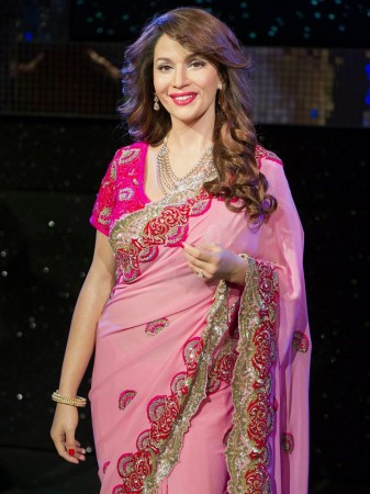Madhuri Dixit's Wax Statue at Madame Tussauds's Gallery