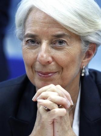 Christine Lagarde, managing director of the International Monetary Fund, U.S.