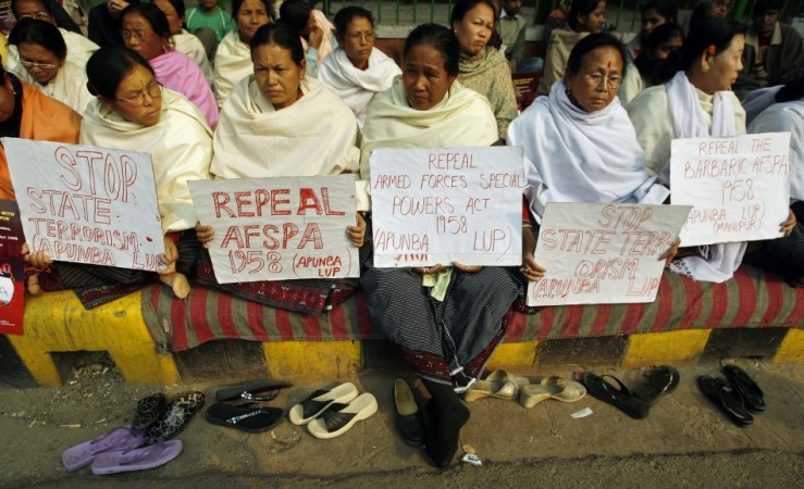 AFSPA Protest