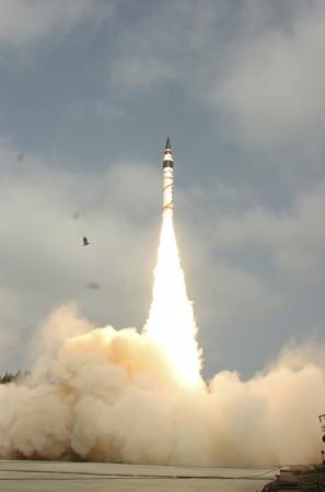 India's ICBM Agni-V missile