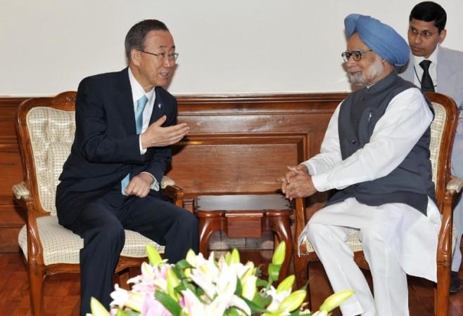 Manmohan Singh, Ban Ki-moon