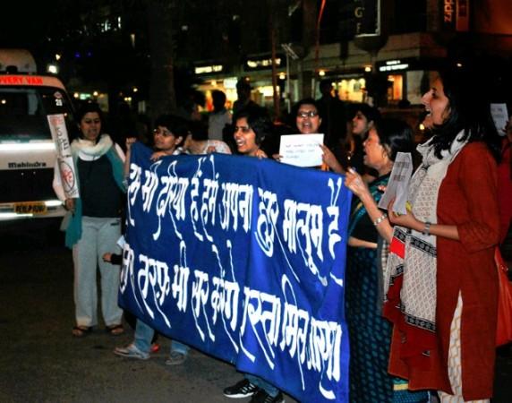 Women Protest against rape