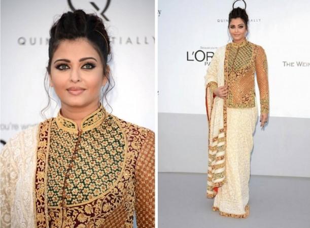 Aishwarya Rai Bachchan at Cannes Film Festival 2012. Image Credit: Facebook.