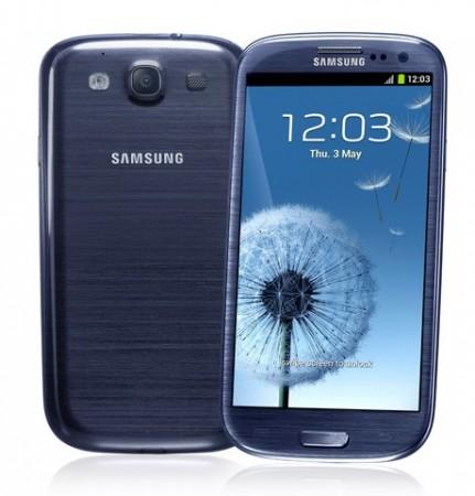Samsung Galaxy S3. Image Credit: Samsung
