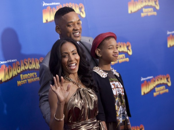 "Cast member Jada Pinkett Smith, her daughter Willow Camille Reign Smith and husband actor Will Smith, arrive for the premiere of ""Madagascar 3: Europe's Most Wanted"" in New York"