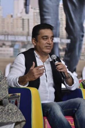 """Kamal Haasan Makes Television Appearance on """"Neengalum Vellalam Oru Kodi"""""""
