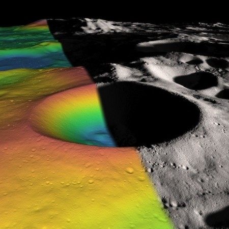 Nasa estimates ice content on Moon's shackleton crater