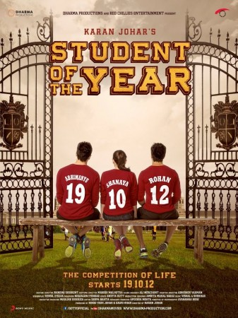 """""""Student of The Year"""" teaser poster. (Facebook)"""