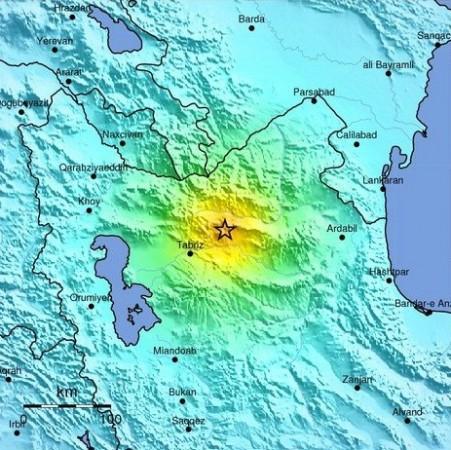Iran Earthquake Epicenter