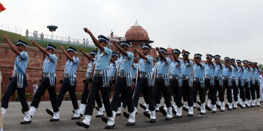 Air Force marching contingent