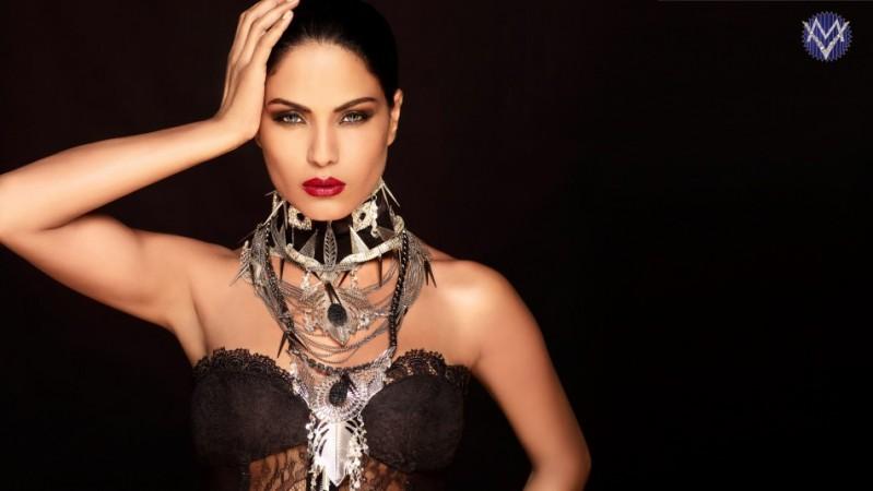 Veena Malik's new Logo. Image: Scribes INC