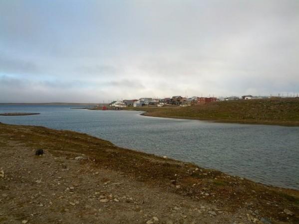 The hamlet of Cambridge Bay