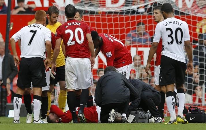 Wayne Rooney injury