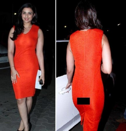 Parineeti Chopra Suffers Wardrobe Malfunction. (Facebook)