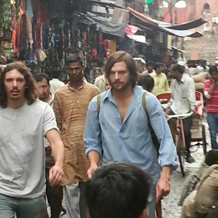 Ashton Kutcher in Delhi