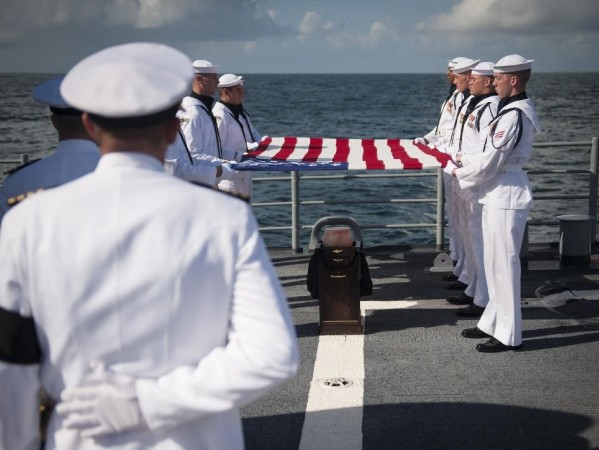 Neil Armstrong Laid to Rest in Atlantic
