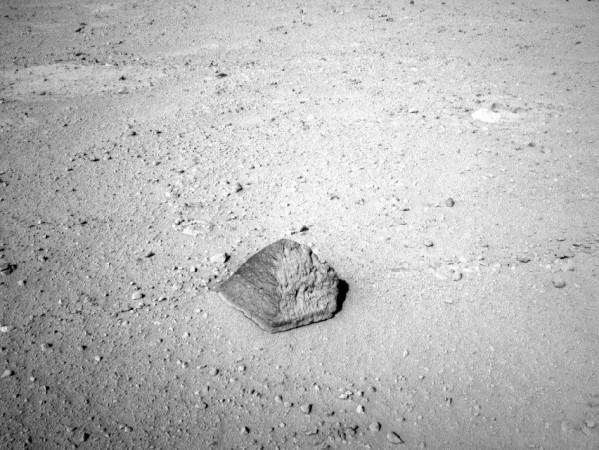 NASA Mars Rover Targets Unusual Rock on Its Journey