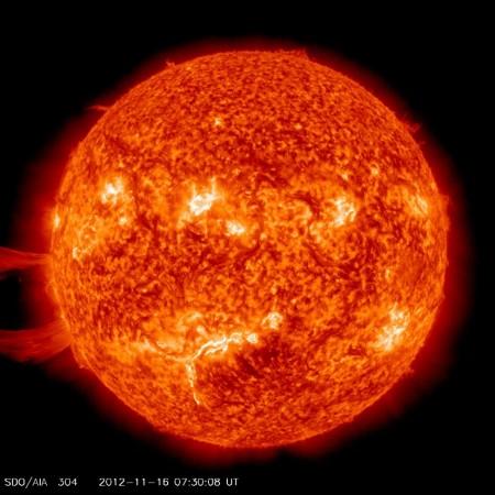 Giant Sun Eruptions