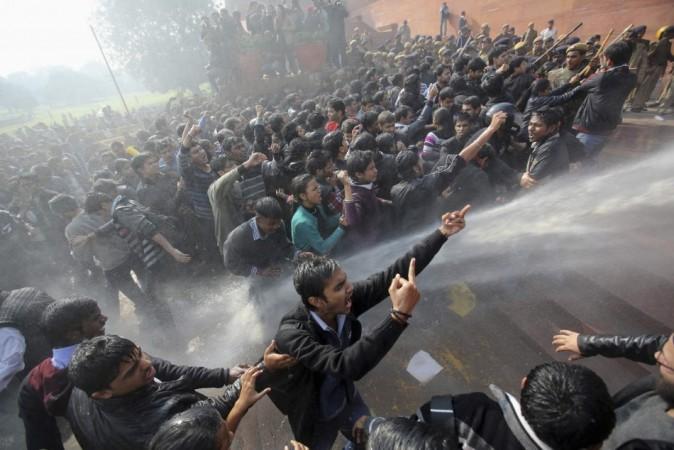 New Delhi gang rape protests