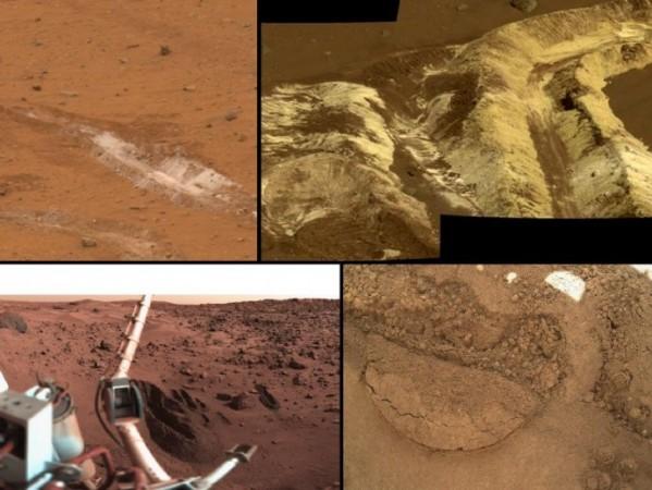 Curiosity Rover Samples