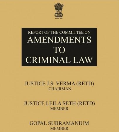 JS Verma Committee Report