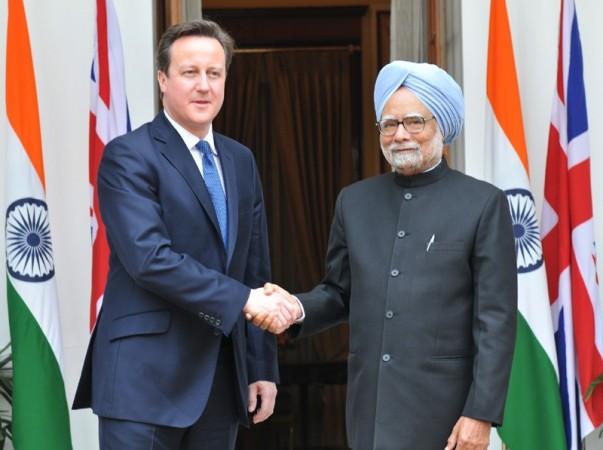 David Cameron, Dr. Manmohan Singh