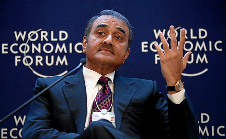 Heavy Industries Minister Praful Patel