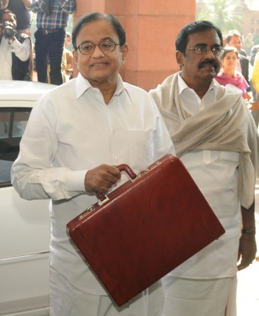 Indian Finance Minister P. Chidambaram