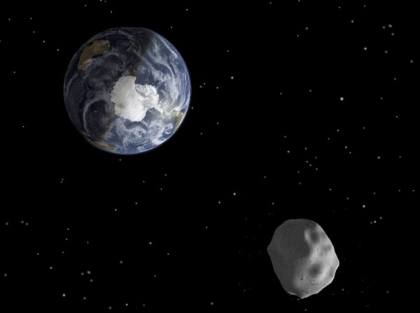 if it where it would fly by earth asteroid hit hit - photo #4