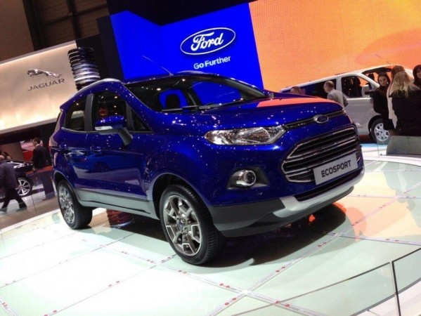 Ford EcoSport At Geneva Motor Show