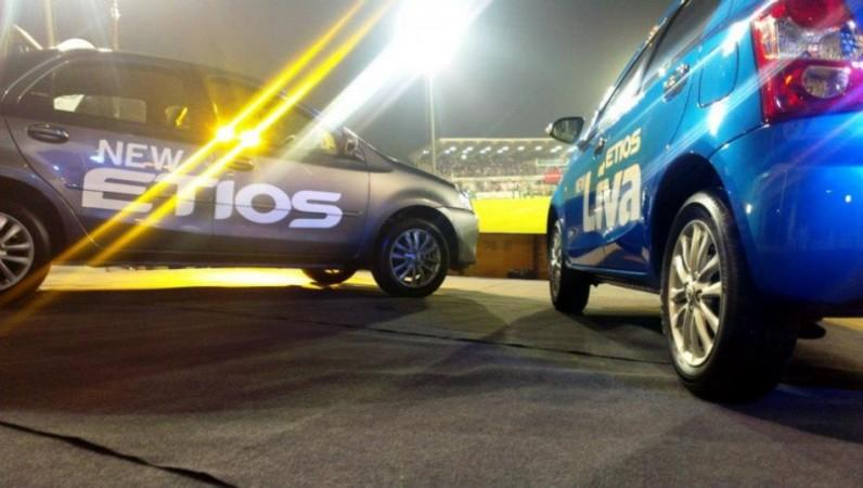 Toyota's Etios sedan, Liva hatchback Launched in India