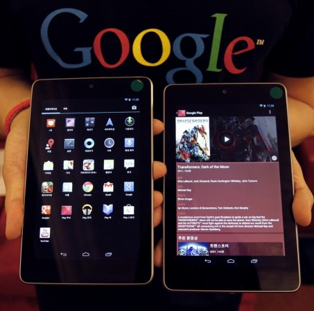 Google Nexus tablets