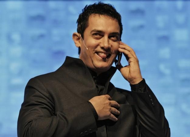 Bollywood actor Aamir Khan.