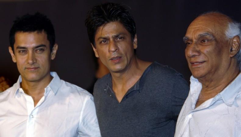 Aamir Khan, Shah Rukh Khan, Yash Chopra