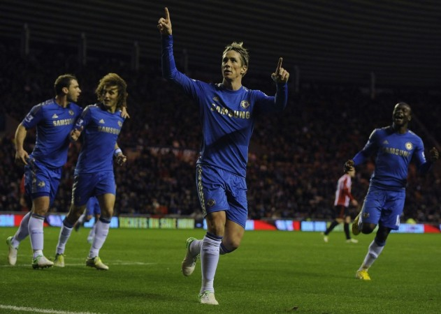 Fernando Torres has a new friend at Stamford Bridge