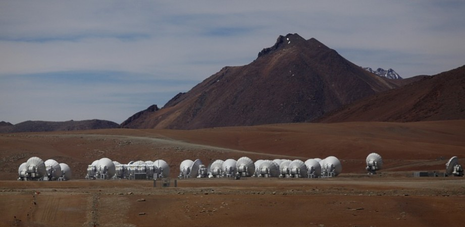Parabolic antennas of the ALMA (Atacama Large Millimetre/Submillimetre Array) project are seen at the El Llano de Chajnantor in the Atacama desert, some 1730 km (1074 miles) north of Santiago and 5000 metres above sea level, March 12, 2013. (Reuters)