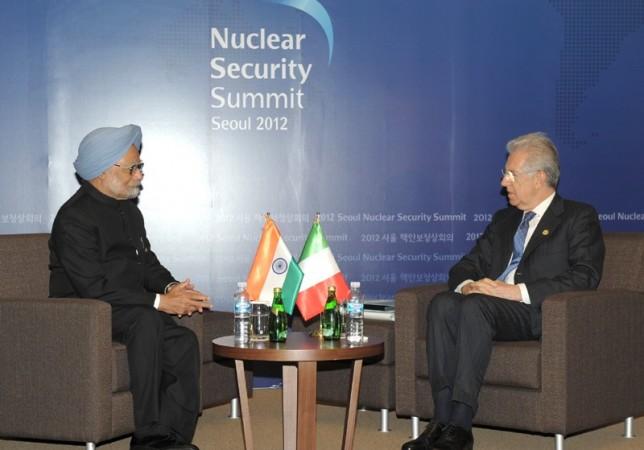 Dr. Manmohan Singh, Mario Monti