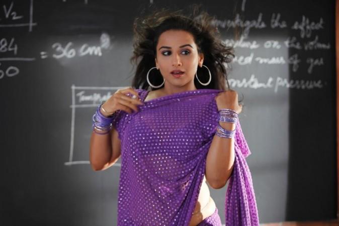 Vidya Balan as Silk Smitha in The Dirty Picture