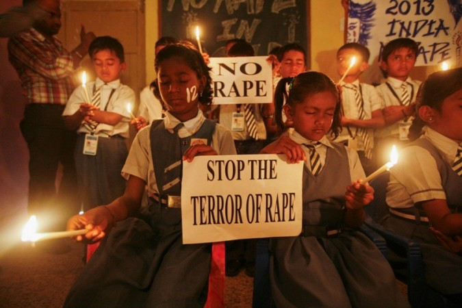 Students hold candles during prayer for a gang rape victim (representational image)